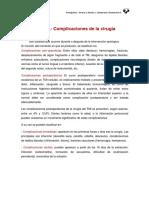 Tema 8.- Complicaciones Quirugicas