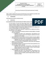 Linea Base Protocolo Comunicación Radial en Operaciones Forestales