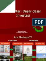 Materi Manajemen Investasi_Dasar-Dasar Investasi