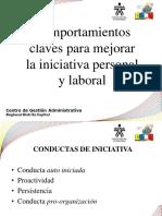 COMPORTAMIENTOS CLAVES MEJORAR INICIATIVA .pptx