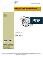 Manufacturing for SAP Business One
