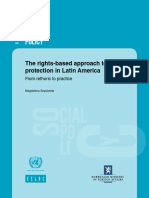 Rights Based Approach to Social Protection - Latin American Experience