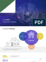 7967 01 Proptech Powerpoint Template 16x9