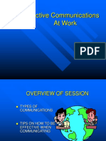 Communication at Work 893