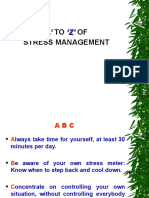A to Z of Stress Management 1