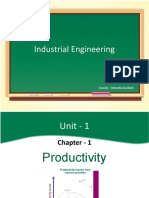 Industrial Engineering - Productivity