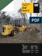 Tractor Topador de Ruedas CATERPILLAR 814F
