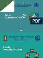 Ydhelgard Arangu - Teoria Administrativa 2 - Unidad 2 - Organizacion