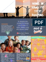 Example Brochure for Antibullying