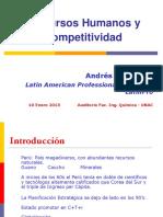 Recursos Humanos y Competitividad - Andrés Mata