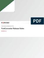 Forticonverter v5.4.0 Release Notes