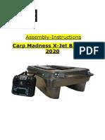 Assembly instruction boat