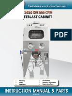 ISTblast Wet Blast System Instruction Manual