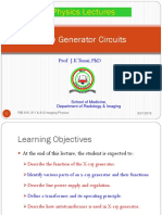 Lecture 11a X-ray Generators