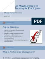 Employee Performance Appraisal Training 2017