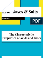 Acid , Bases & Salts