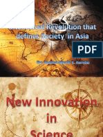 Intellectual Revolution that defines society in Asia
