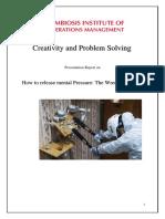 Creativity Report -Group 16-Animesh Shukla