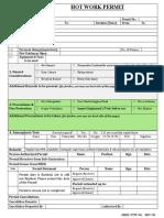 06 - Hot Work Permit