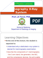 Lecture 21b Mammography X-ray Unit