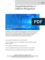 Why Every Hospital Should Have a New-Age Healthcare Management System
