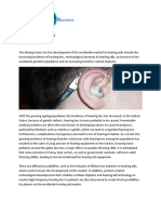 Global Hearing AIDS Market Size, Share, Trends, Growth, Forecast