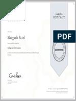Margesh Patel Behavioral Finance