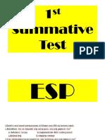 ESP grade 3