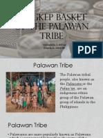 Tingkep Basket of the Palawan Tribe