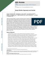 Journal alergi terhadap depresi