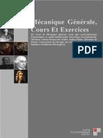 Mécanqiue Générale, Cours Et Exercices - EL ALOUAN Mohamed