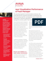 AvayaVisualizationPerformanceandFaultManagerDN5232
