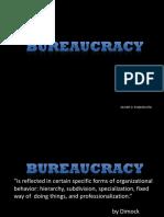 Bureaucracy (adaptation)