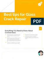 Best Tips for Glass Crack Repair