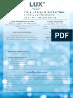LSAA Job Poster Advert_various Position - 21.08.19