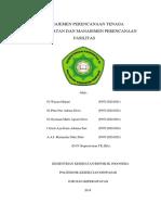 3. Manajemen Perencanaan Tenaga Keperawatan Dan Manajemen Perencanaan Fasilitas Present Edit