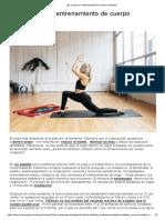 ¿Es El Yoga Un Entrenamiento de Cuerpo Completo
