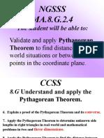 PythagoreanThm 8th grade 2.ppt