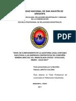 Tesis Auditoria de Cumplimiento de Practicas Laborales.