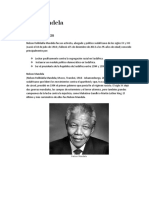 Nelson Mandela LIDER Trabajo