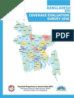 EPI Coverage Evaluation Survey 2016_Final