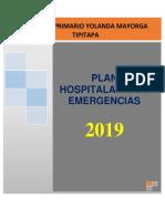 PHE Plan de Emergencia HPYM 2019