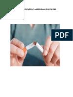 Dieta Para Ex-fumadores