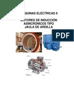 Máquinas Eléctricas II Motor Jaula de Ardilla