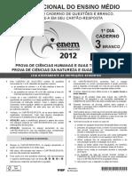 ENEM - 2012 - DIA 01 - CADERNO 03 - BRANCO - PROVA 2ª APLICAÇÃO.pdf