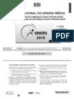 ENEM - 2015 - DIA 01 - CADERNO 09 - BRANCO - GABARITO 2ª APLICAÇÃO.pdf
