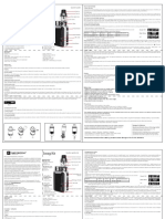 Manual para vapespresso