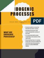 Endogenic Processes