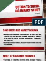 Introduction of Socio-Economic Impact