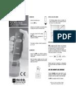HI98308 Manual